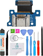 OmniRepairs Charging Dock Port Flex Cable Replacement with SD Card Reader Compatible for Samsung Galaxy Tab S Model (T700, T701, T705, T707V) with Repair Toolkit (8.4 inch)
