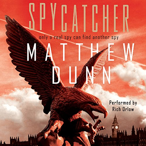 Spycatcher audiobook cover art