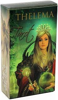 Thelema Tarot Cardsボードゲームガイダンス首都運命オラクル英語ファミリーパーティートランプカードデッキゲームエンターテイメント
