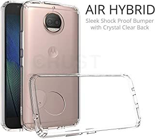 M.G.R.J® Air Hybrid Back Cover for Moto G5s Plus with (Shock Proof & Air Cushion Technology)
