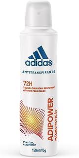 Desodorante Aerossol Feminino, Adidas, Branco, 150 Ml