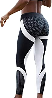 Women's Yoga Pants Sport Pants Workout Leggings Sexy High Waist Trousers
