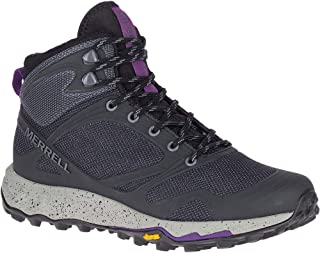 حذاء Merrell Altalight Knit Mid Hiking - نسائي أسود