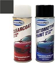 ExpressPaint Aerosol - Automotive Touch-up Paint for Dodge Durango - Maximum Steel Metallic Clearcoat PAR/KAR - Color + Clearcoat Package