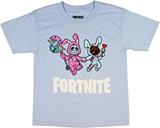 Fortnite Shirt Boys' Bunny Trouble Rabbit Raider And Bunny Brawler Character Licensed T-Shirt