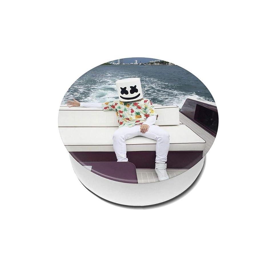 服を着る叫ぶ高いYinian 4個入リ マシュメロ Marshmello スマホリング/スマホスタンド/スマホグリップ/スマホアクセサリー バンカーリング スマホ リング おしゃれ ホールドリング 薄型 スタンド機能 ホルダー 落下防止 軽い 各種他対応/iPhone/Android(2pcs入リ)