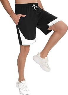 Doaraha Pantalones Cortos Deportivos Hombre Algodón Ropa de Dormir Pantalón Corto Casual Sport Shorts Bolsillos Pantalón C...
