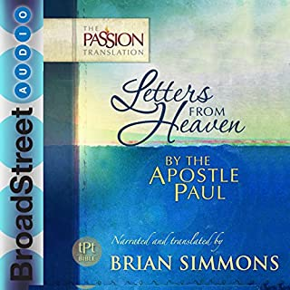Letters from Heaven by the Apostle Paul cover art