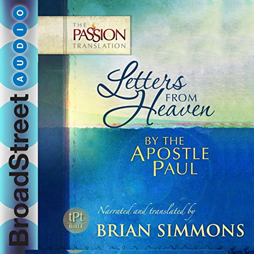 Letters from Heaven by the Apostle Paul audiobook cover art
