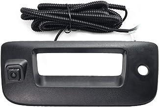 Chevy Silverado and GMC Sierra Rear View Camera Backup Tailgate Handle Camera for Chevy Silverado and GMC Sierra Years 2007-2013,Tailgate Door Handle Replacement Camera(Color: Black)