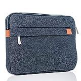 BiDZO Tablet Tasche grau, Schutzhülle, Tablet Schutztasche 10-11 Zoll, Hülle Galaxy Tab S6, Galaxy Tab A7, Huawei Media Pad M5, Netbook Hülle