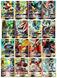 zhybac Pokemon Card, Pokemon Flash Card, Pokemon Card, Carta per Bambini, 60 Carte GX Complete, 60 Carte Mega Complete,Pokemon Toy Card,Carta Rara di Pokemon (60PCS GX)