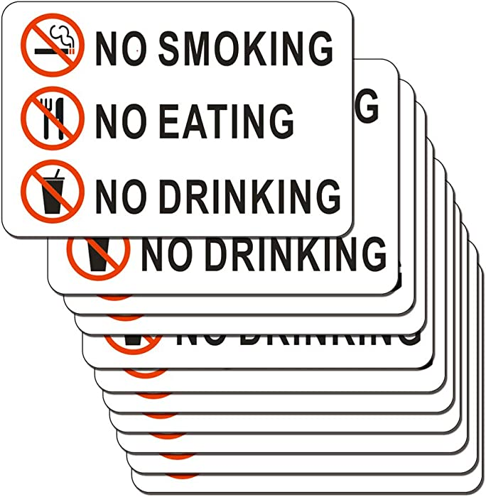 The Best No Outside Food Or Drink Sign Sticker