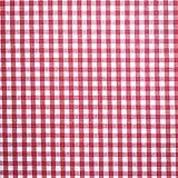 Staab's Beschichtete Baumwolle Bauernkaro rot weiß kariert