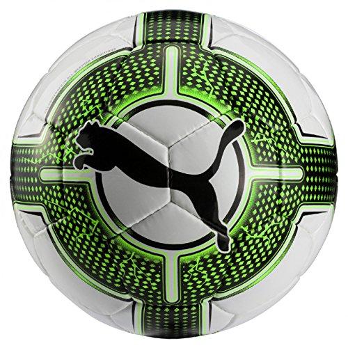 Puma evoPOWER Lite 3 - Pallone da calcio, 350 g, colore: Bianco/Verde Geco nero, 4