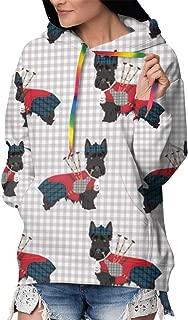 Women's Pullover Fleece Hoodies Coat Loose Casual Sweatshirts Hoodie with Pocket