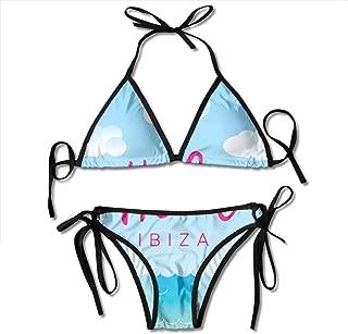 Women's Bikini Set,Spread Love Valentines Hand Writing Heart LGBT Parade Slogan Grungy Vibrant,Two Pieces Swimsuit