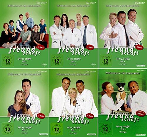 In aller Freundschaft - Die Komplette Staffel 13-15 (13.1-15.2) im Set - Deutsche Originalware [33 DVDs]