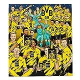 Borussia Dortmund Schoko-Comic-Adventskalender - 4