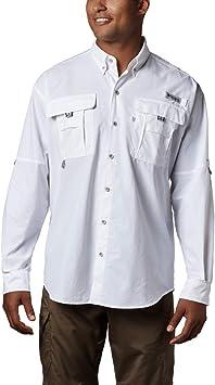 Columbia Camisa de manga larga grande para hombre Bahama II ...