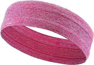 Leoie Yoga Hair Bands Elastic Cotton Sweat Sport Yoga Gym Sweatband Stretch Headband