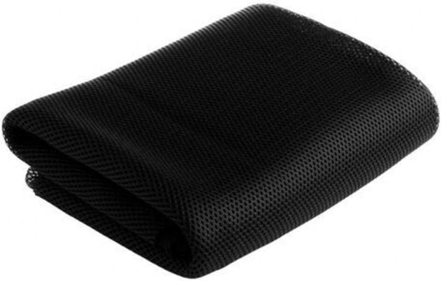 CALIDAKA Speaker Mesh Cloth, 140 X 50cm Speaker Grill Cloth Stereo Fabric Speaker Mesh Cloth Dustproof Protective Cover Replacement Applicable to Speakers/Stage Speakers/KTV(Black) : Electronics
