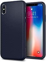 Spigen Liquid Air Armor Designed for Apple iPhone Xs Case (2018) / Designed for Apple iPhone X Case (2017) - Midnight Blue (Renewed)
