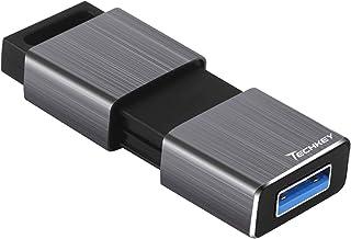 256 گیگابایتی فلش درایو USB 3.0 ، درایو Techkey F90 با سرعت بالا