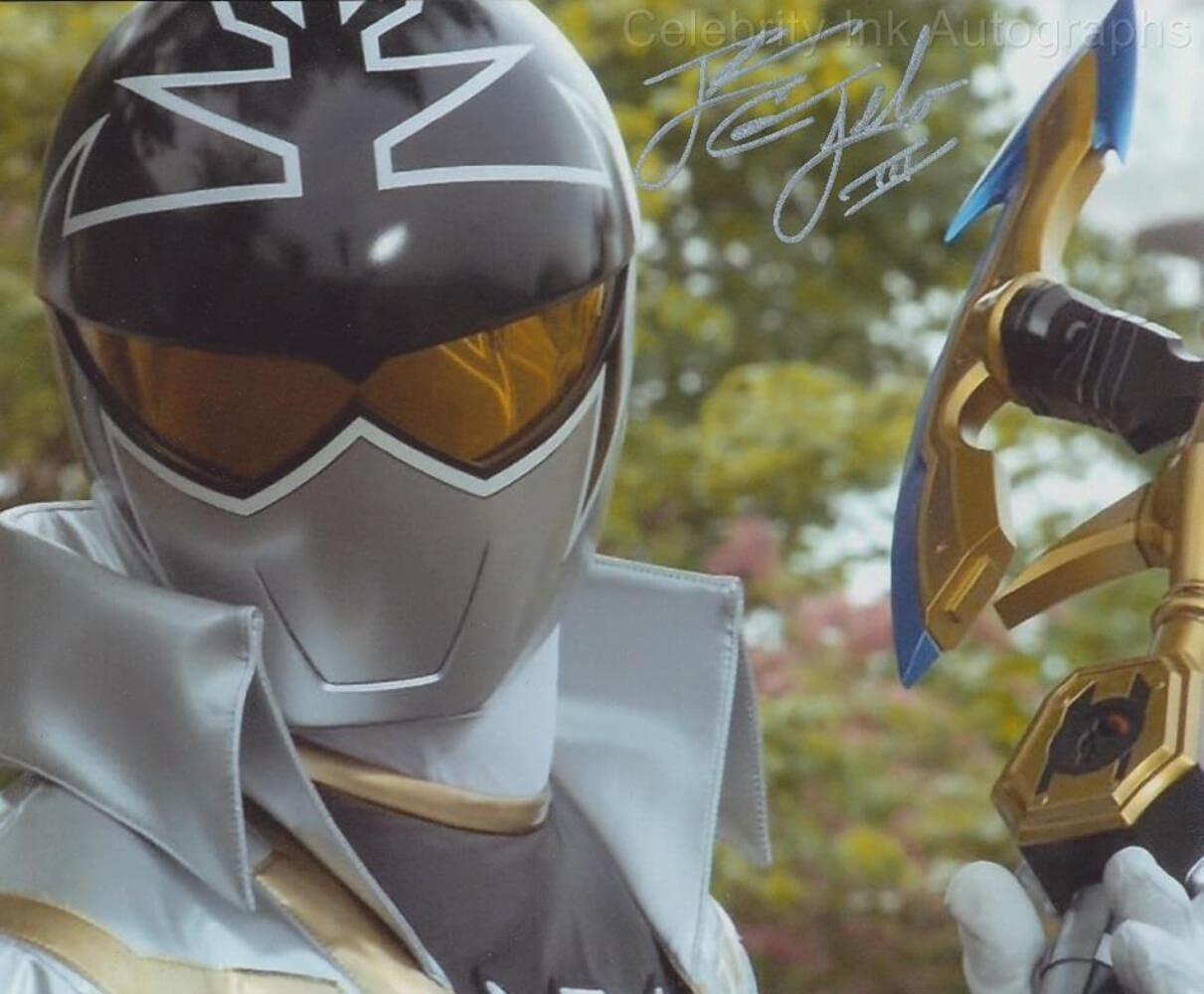 CAMERON JEBO as Orion the Silver Super Ranking TOP1 Megaforce Ranger Popular overseas Mighty -