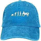 Denim Baseball Cap Evolution of A Tractor-1 Men Women Snapback Casquettes Adjustable Dad Hat New Gifts Cool 2021