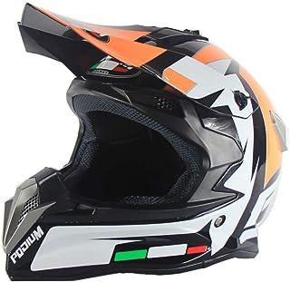 OLEEKA Motocross de casco para adultos jóvenes, certificación DOT, para ATV Dirt Bike MX