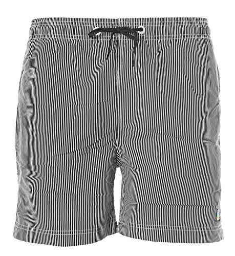 Shiwi Herren Badeshorts Boardshorts Badehose Swimshorts Shorts Schwarz S