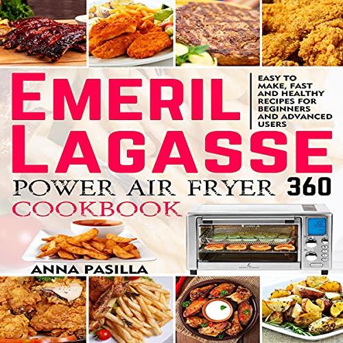 Emeril Lagasse Power Air Fryer 360 Cookbook Titelbild