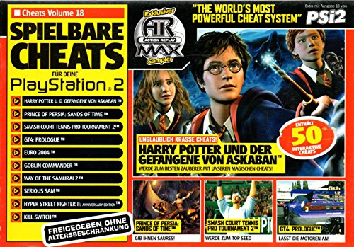 Action Replay Max PS2 50 Interactive Cheats