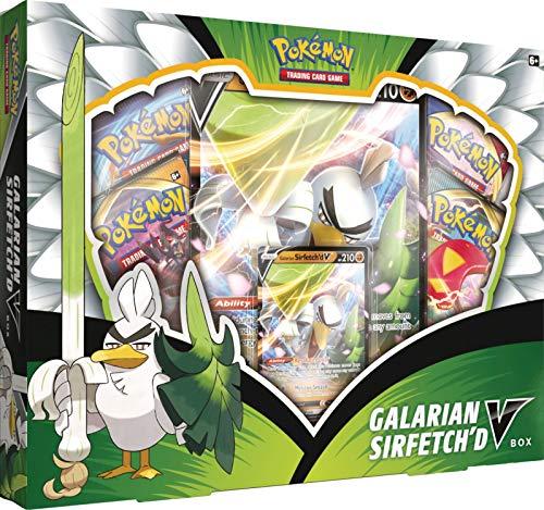 Pokémon POK80737 TCG: Galarian Sirfetch'd V Box, Mehrfarbig