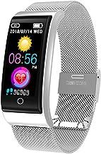 CYGGJ Smart Watch F4, Smartwatch Resistente al Agua para