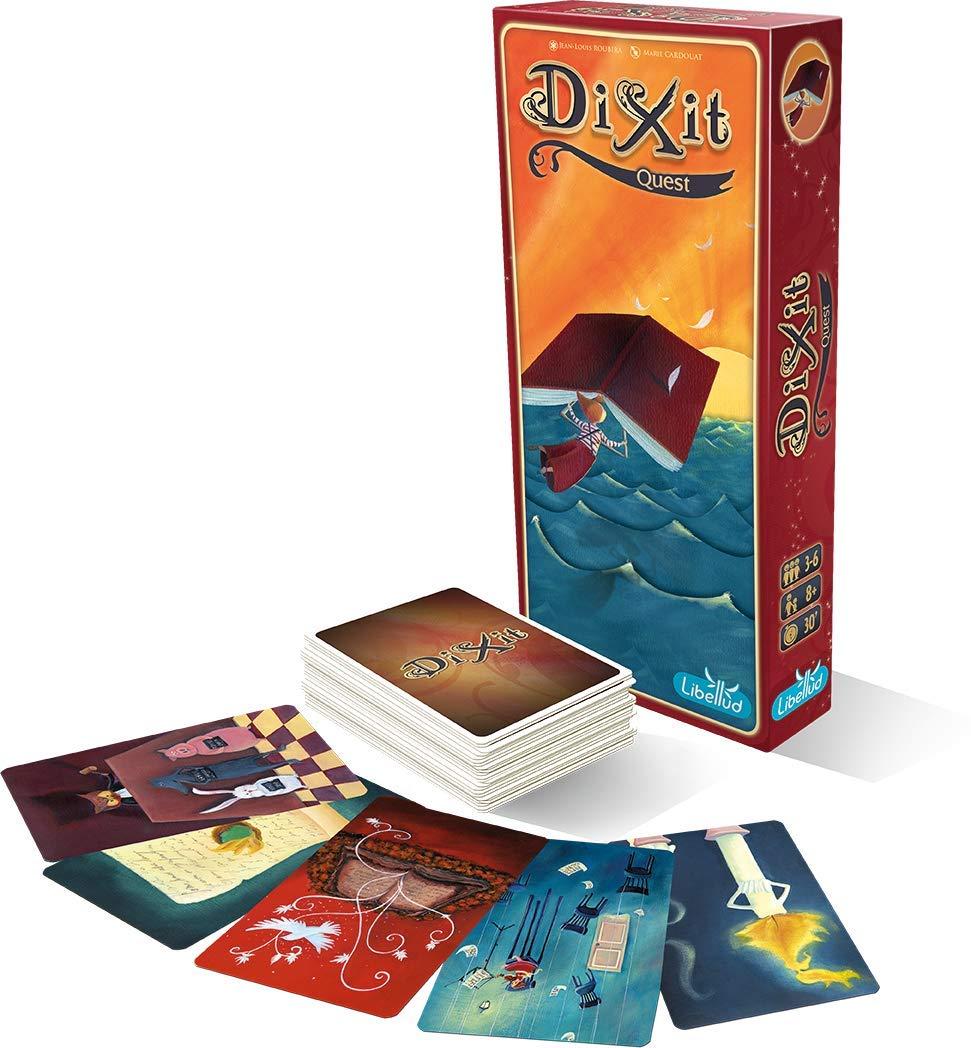 Libellud 001 622 - Dixit 2 Big Box, Juego de Mesa: Amazon.es: Juguetes y juegos