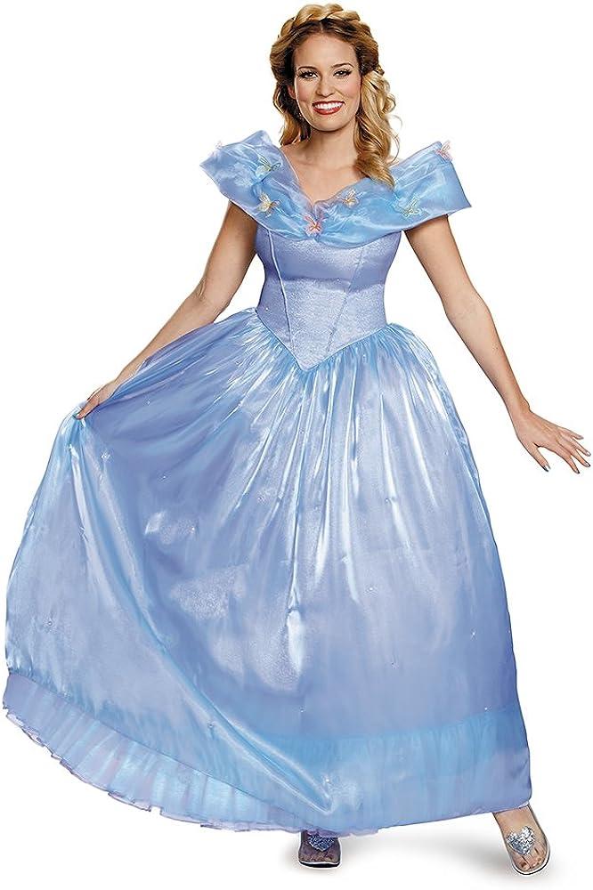 Disney Disguise Manufacturer direct delivery Women's Cinderella Spasm price Movie Adult Ultra Co Prestige