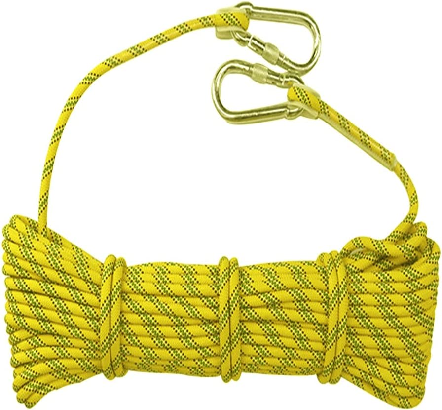 QHY Climbing Rope 10mm High Safety Outdoor Rock Max Special price for a limited time 72% OFF Static Strength