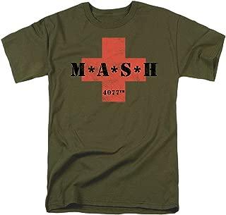 MASH Cross T Shirt & Stickers