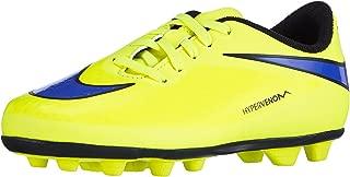 Hypervenom Phade FG-R Youth Soccer Cleat Volt/Blue/Black Size 5