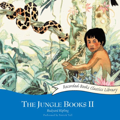 The Jungle Books II audiobook cover art