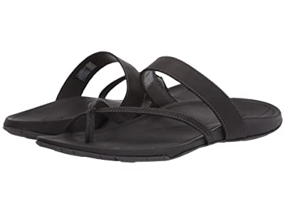 Chaco Lost Coast Leather (Black) Women