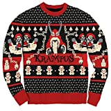 Ripple Junction Krampus Knit Ugly Christmas Sweater (Adult Small)