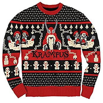 Ripple Junction Krampus Knit Ugly Christmas Sweater  Adult XX-Large