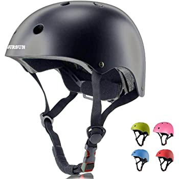 EXZ Toddler Bike Helmet Adjustable Toddler Youth Adult CPSC Certified Bike Helmet for Skateboarding Roller Skating Scooter Riding Bicycling Skating and More