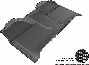 ثلاثية الأبعاد maxpider مشاية أرضية بملاءمة مخصصة مختارة من سيارات Chevrolet Silverado/GMC Sierra–kagu مطاط, Black