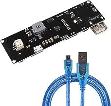 MakerFocus Wemos 18650-Battery Shield V3 ESP32 for Raspberry Pi and Arduino