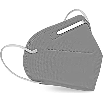 SHOPERIYA KN-95 Air Filter Face Mask Reusable,Washable- Dust/Pollution/Premium Quality Mask for Kids,Adults,Men & Women(Grey pack of 2)