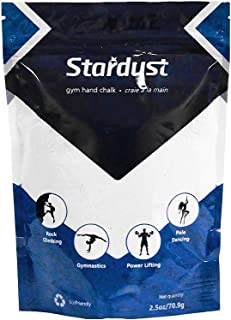 Stardust High Performance Colored Hand Chalk| Non Toxic- No Fillers- Grip Enhancer- Made with Magnesium Carbonate| Made fo...